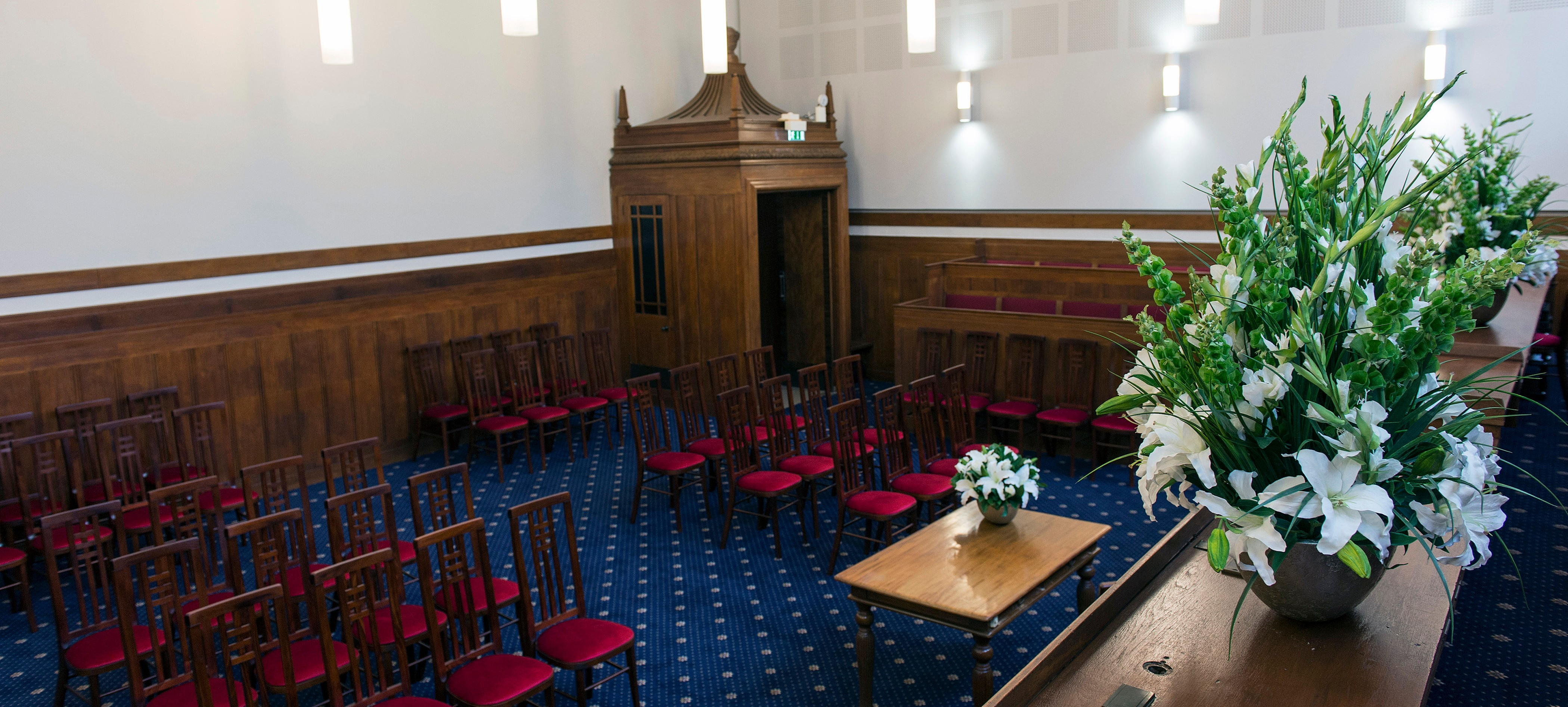Ceremony Room 1 in Old Court House